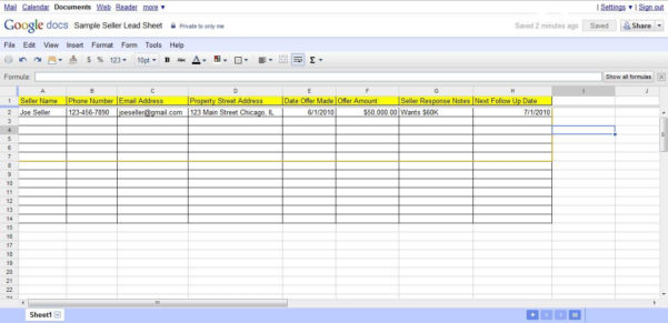 Property Evaluation Spreadsheet With Regard To Real Estate Lead Tracking Spreadsheet And Investment Property