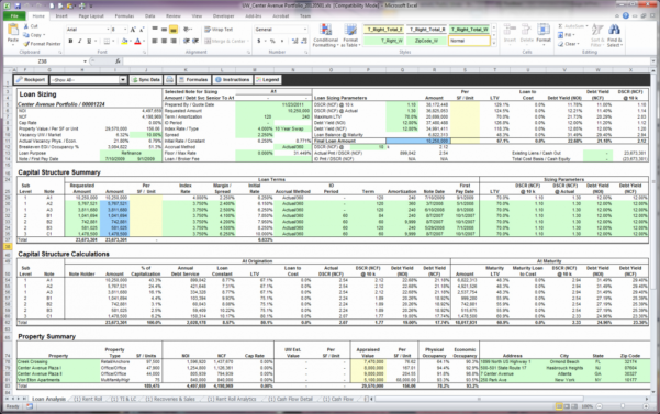 Property Management Excel Spreadsheet Pertaining To Rental Property Income And Expenses Template Excel Spreadsheet Free