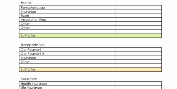 Property Spreadsheet Template For Accounting For Rental Property Spreadsheet Template