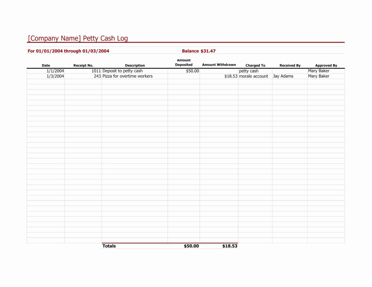 Proposal Spreadsheet With Proposal Tracking Spreadsheet Invoice Template