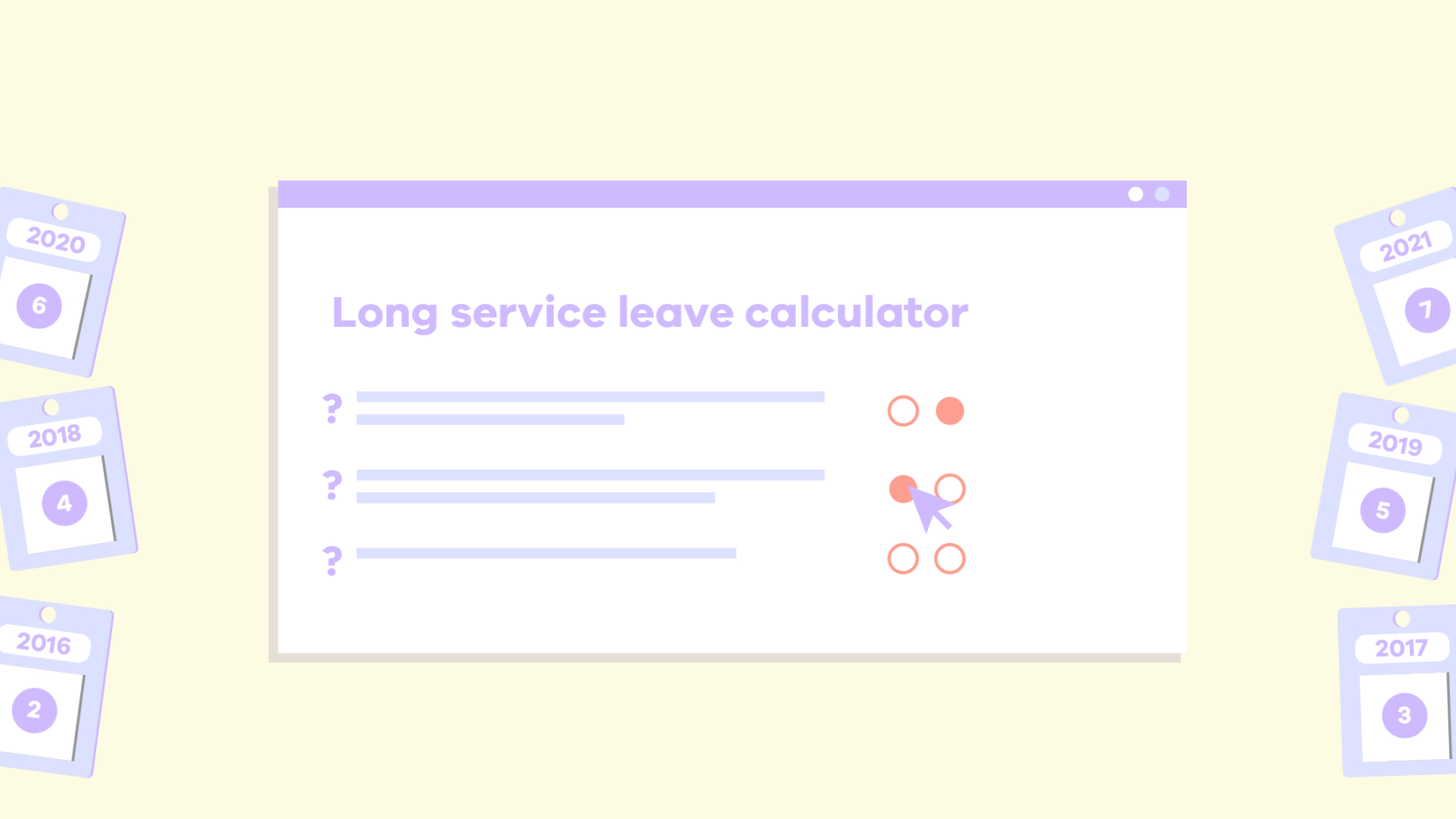Provision Long Service Leave Calculation Spreadsheet Within Long Service Leave Calculator  Business Victoria