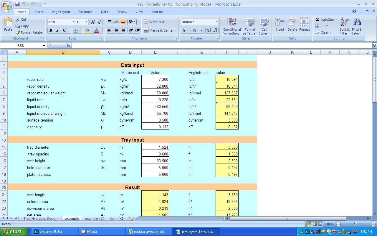 Psv Sizing Spreadsheet Inside Welcome To Klm Technology Group  Engineering Design Guidelines