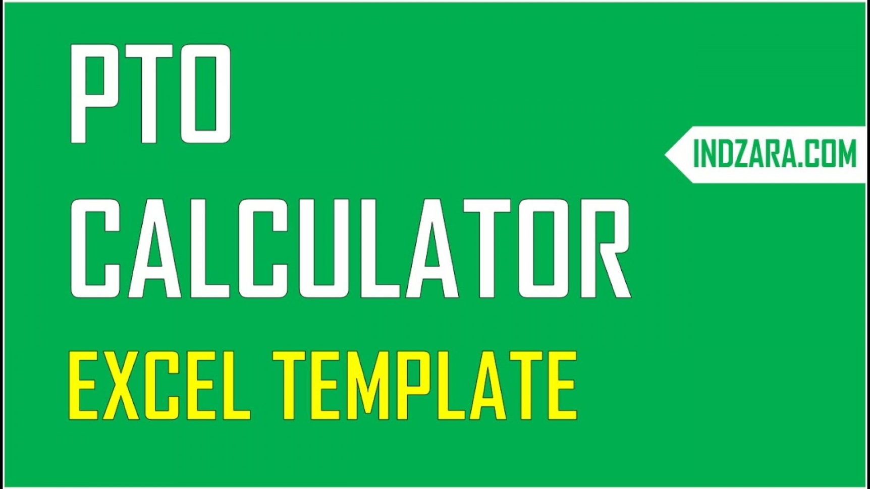 Pto Calculator Spreadsheet In 005 Excel Pto Tracker Template Maxresdefault ~ Ulyssesroom