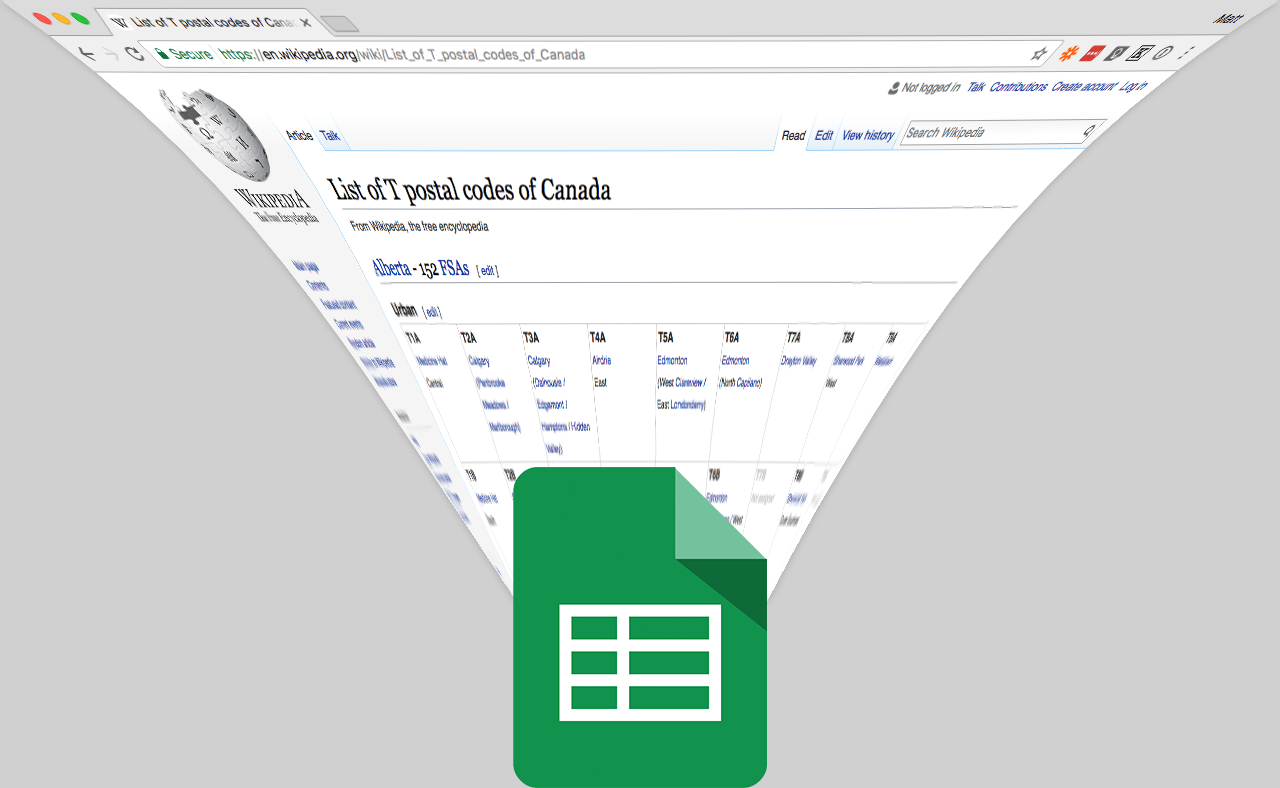 Pull Data From Website Into Google Spreadsheet With Regard To How To Import Data From Any Web Page Into Google Sheets With Importxml