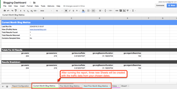 Pull Data From Website Into Google Spreadsheet Within How To Create A Custom Business Analytics Dashboard With Google