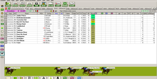 Punters Club Spreadsheet For Horse Racing Australia  Professional Punters Blog  Where All Of
