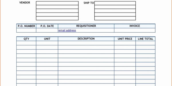 Purchase Order Tracking Spreadsheet Pertaining To New Spreadsheet Examples Purchase Order Tracking Excel Template