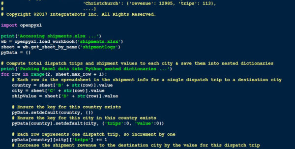 Python Read Excel Spreadsheet For Python Powered Excel – Integratedots