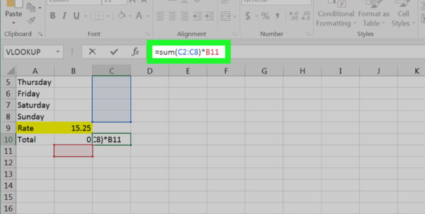 Quantity Surveyor Excel Spreadsheets In 4 Ways To Calculate Averages In Excel  Wikihow