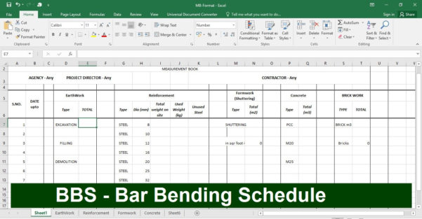 Quantity Surveyor Excel Spreadsheets Intended For How To Make Bbs In Excel Sheet Download Sample File Of Bbs