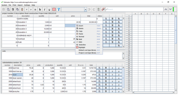 Quantity Surveyor Excel Spreadsheets Regarding Construction Bill Of Quantities Template Invoice Free For Building