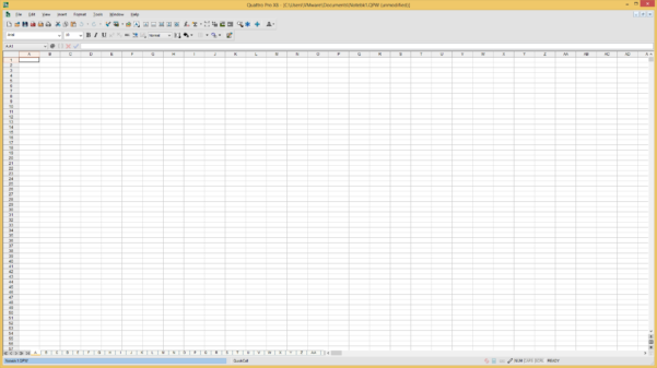 Quattro Pro Spreadsheet Intended For Corel Quattro Pro File Extensions