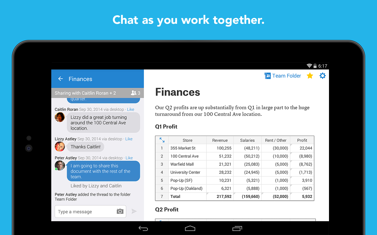 Quip Spreadsheets With Quip: Docs, Chat, Spreadsheets 5.4.3 Apk Download  Android