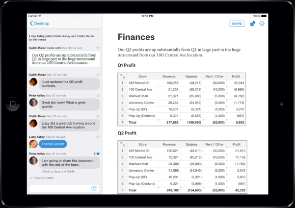 Quip Spreadsheets With Regard To Quip Gets $30 Million From Greylock To Kill Microsoft Word  Fortune