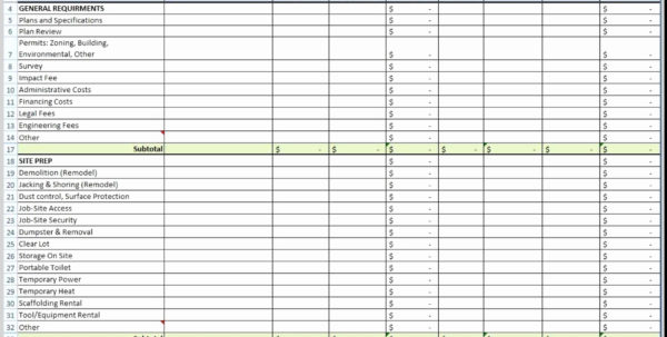 Quotation Tracking Spreadsheet With Regard To Construction Cost Tracking Spreadsheet Inspirational Quote Fresh