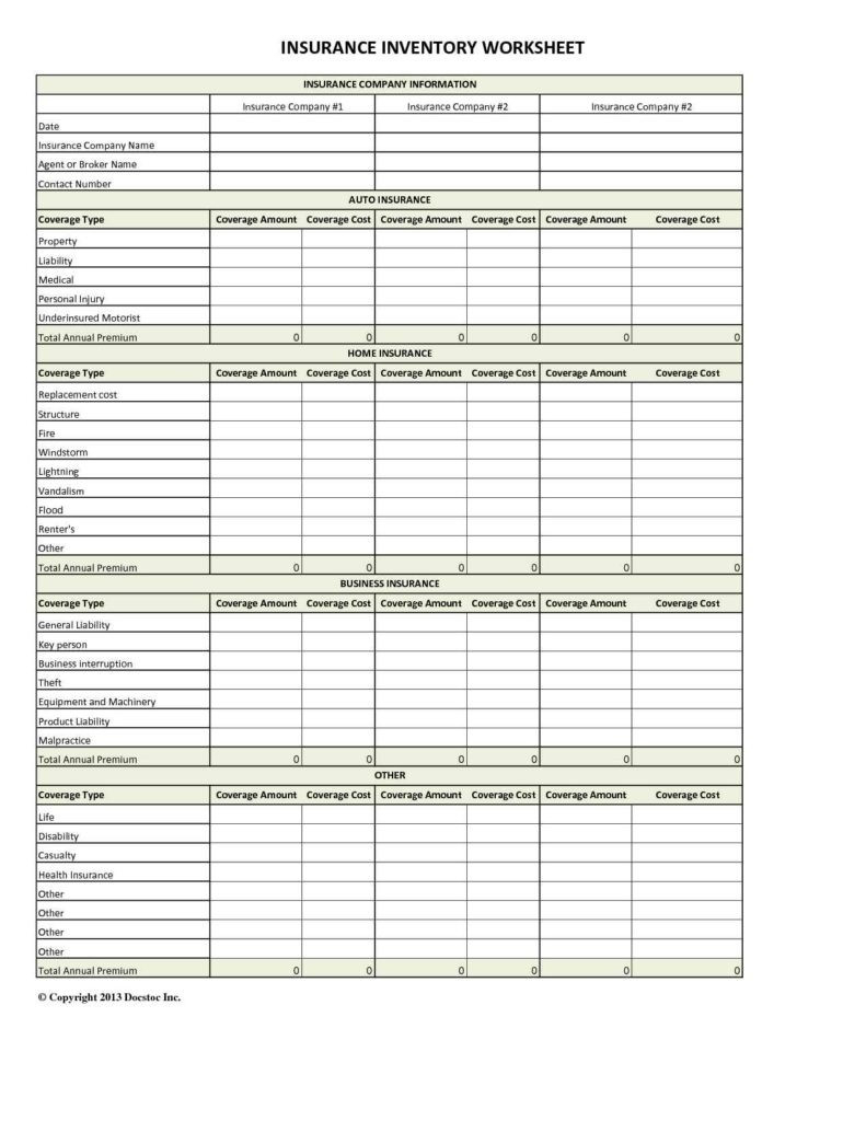 Quote Spreadsheet In Quote Spreadsheet Template 28 Images Tracking Within Insurance