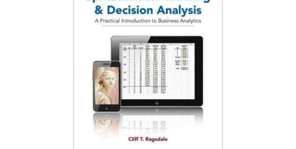 Ragsdale Spreadsheet Modeling Regarding Spreadsheet Modeling For Business Decisions Ebook 3Rd Edition Pdf