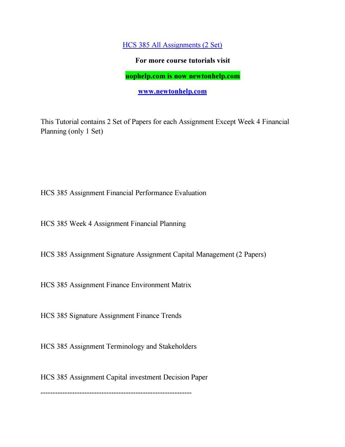 Ratio Analysis Spreadsheet Hcs 385 intended for Hcs 385Chrysantemumdelph.i.n.ium  Issuu