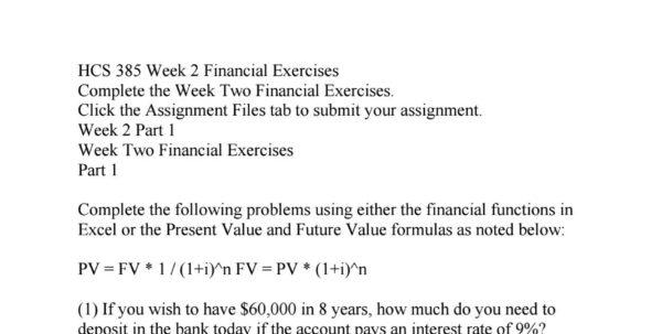 ratio analysis spreadsheet hcs 385