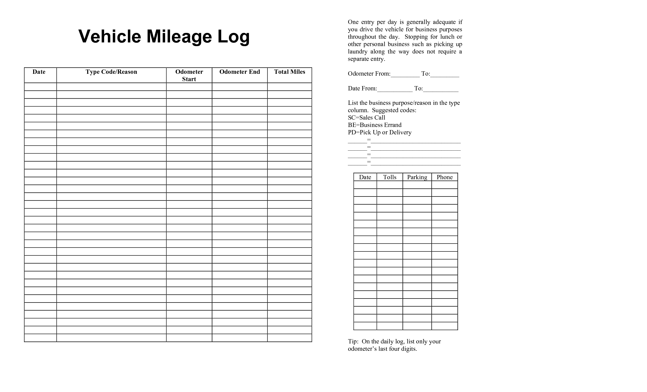 Reading Log Spreadsheet In Mileage Form Templates Car Spreadsheet New Irs Log Book Template
