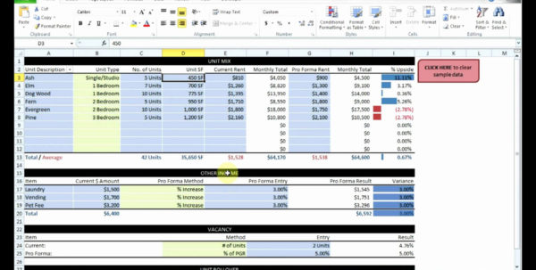 Real Estate Cash Flow Analysis Spreadsheet Within Accounting For Rental Property Spreadsheet And Estimate Australia