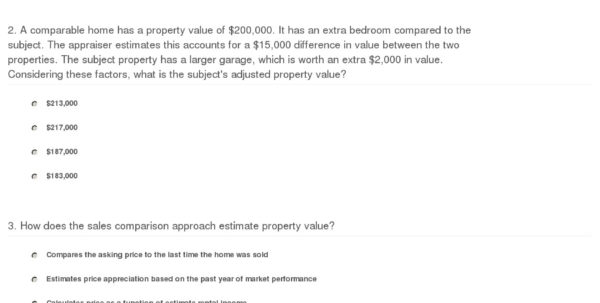 Real Estate Comparables Spreadsheet With Regard To Quiz  Worksheet  Comparable Sales Approach In Real Estate  Study