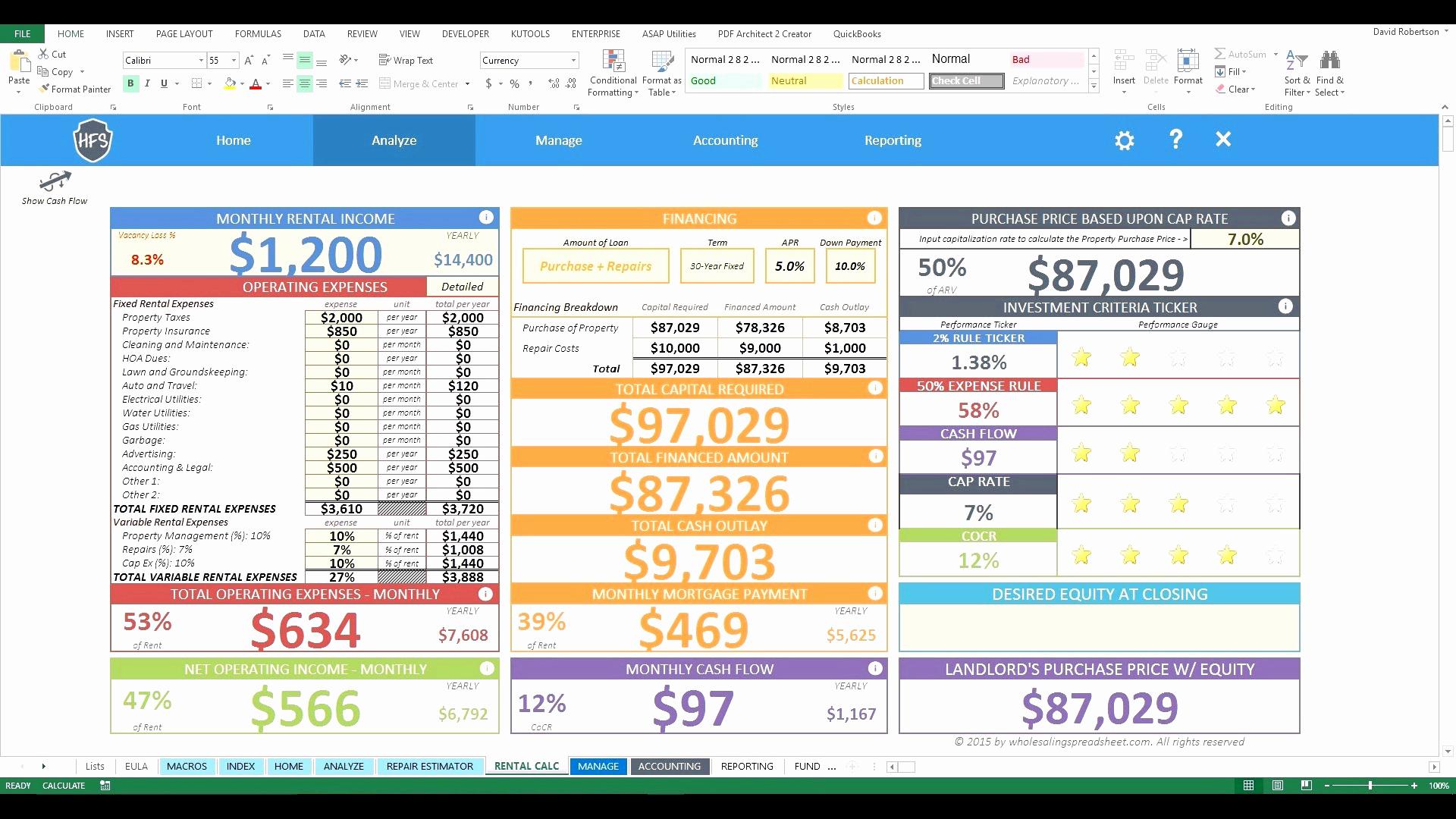 Real Estate Deal Analyzer Spreadsheet In Commercial Real Estate Lease Analysis Spreadsheet With Financial