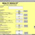 Real Estate Investment Analysis Excel Spreadsheet Throughout Real Estate Investment Analysis Excel Spreadsheet And Real Estate