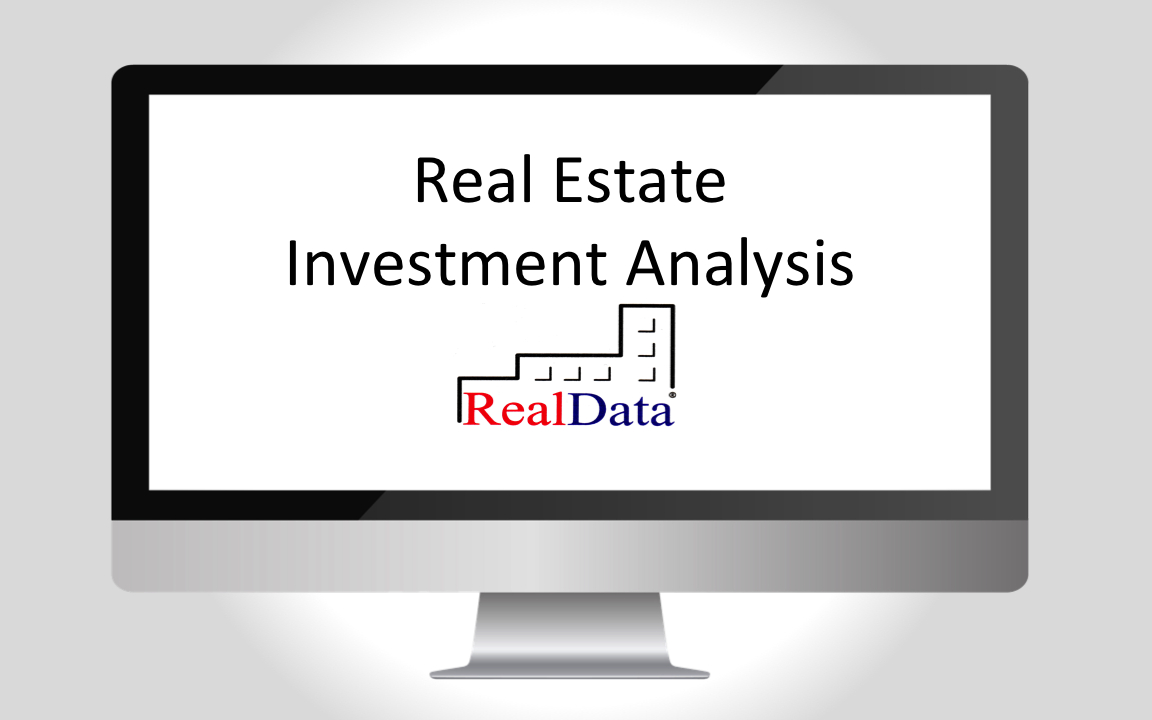 Realdata's Pro Spreadsheet With Real Estate Investment Software From Realdata
