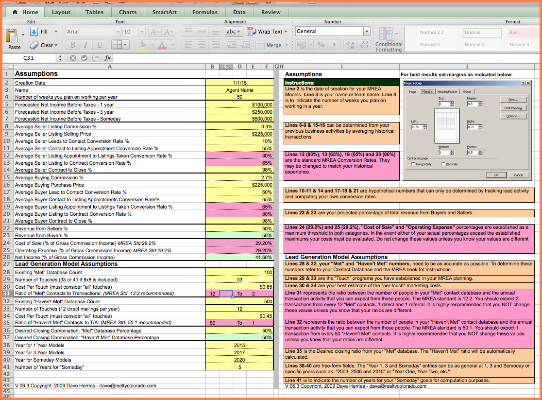 Realtor Expenses Spreadsheet In Real Estate Agent Expense Tracking Spreadsheet Free