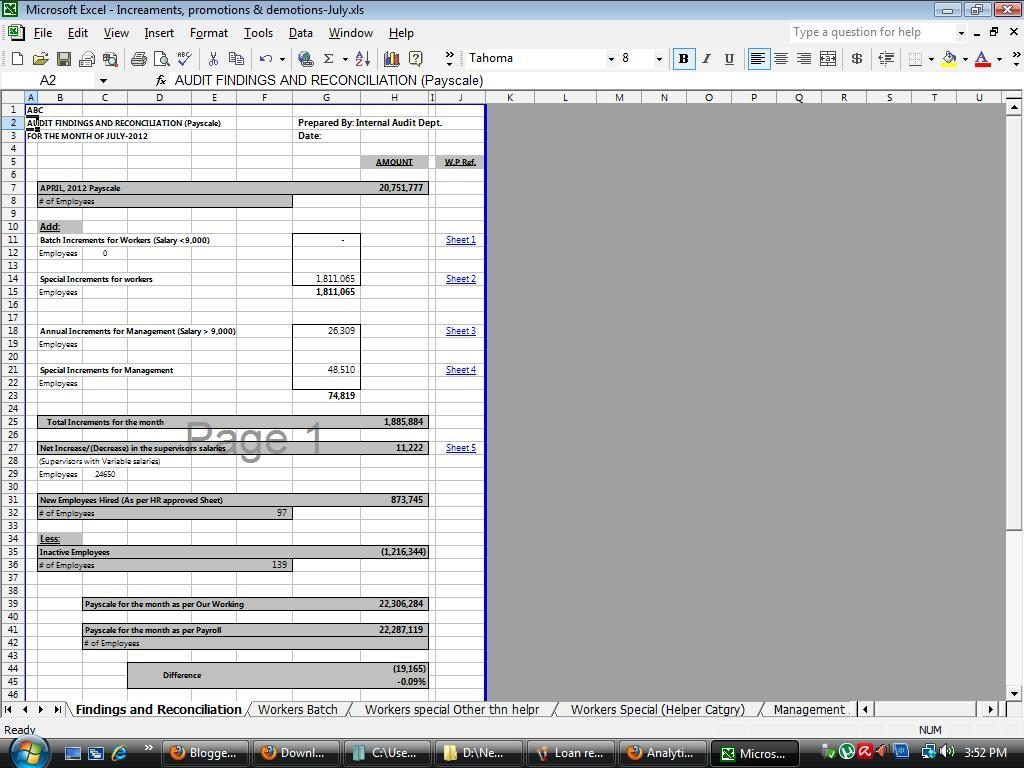 Reconciliation Excel Spreadsheet In Payroll Reconciliation Template Excel Uk Spreadsheet