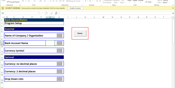 Reconciliation Excel Spreadsheet With Download Bank Reconciliation Program 2.02