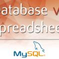 Redundancy Calculator Spreadsheet Regarding Database Vs Spreadsheet  Advantages And Disadvantages