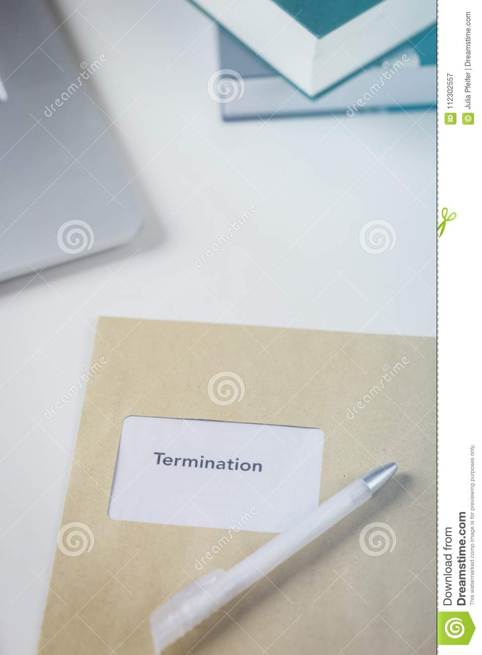 Redundancy Calculator Spreadsheet Within Termination Or Redundancy Letter In An Envelope Stock Image  Image