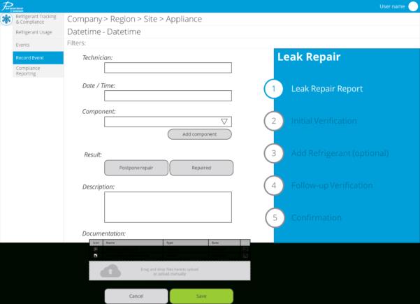 Refrigerant Tracking Spreadsheet Pertaining To Refrigerant Management  Bacharach, Inc.