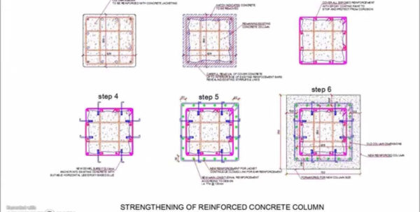 Reinforced Concrete Column Design Spreadsheet Regarding Fresh Concrete Column Design New Reinforced Jacketing Detail You