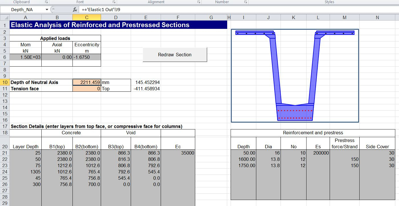 Reinforced Concrete Slab Design Spreadsheet Throughout Reinforced Concrete Column Design Spreadsheet Newton Excel Bach Not