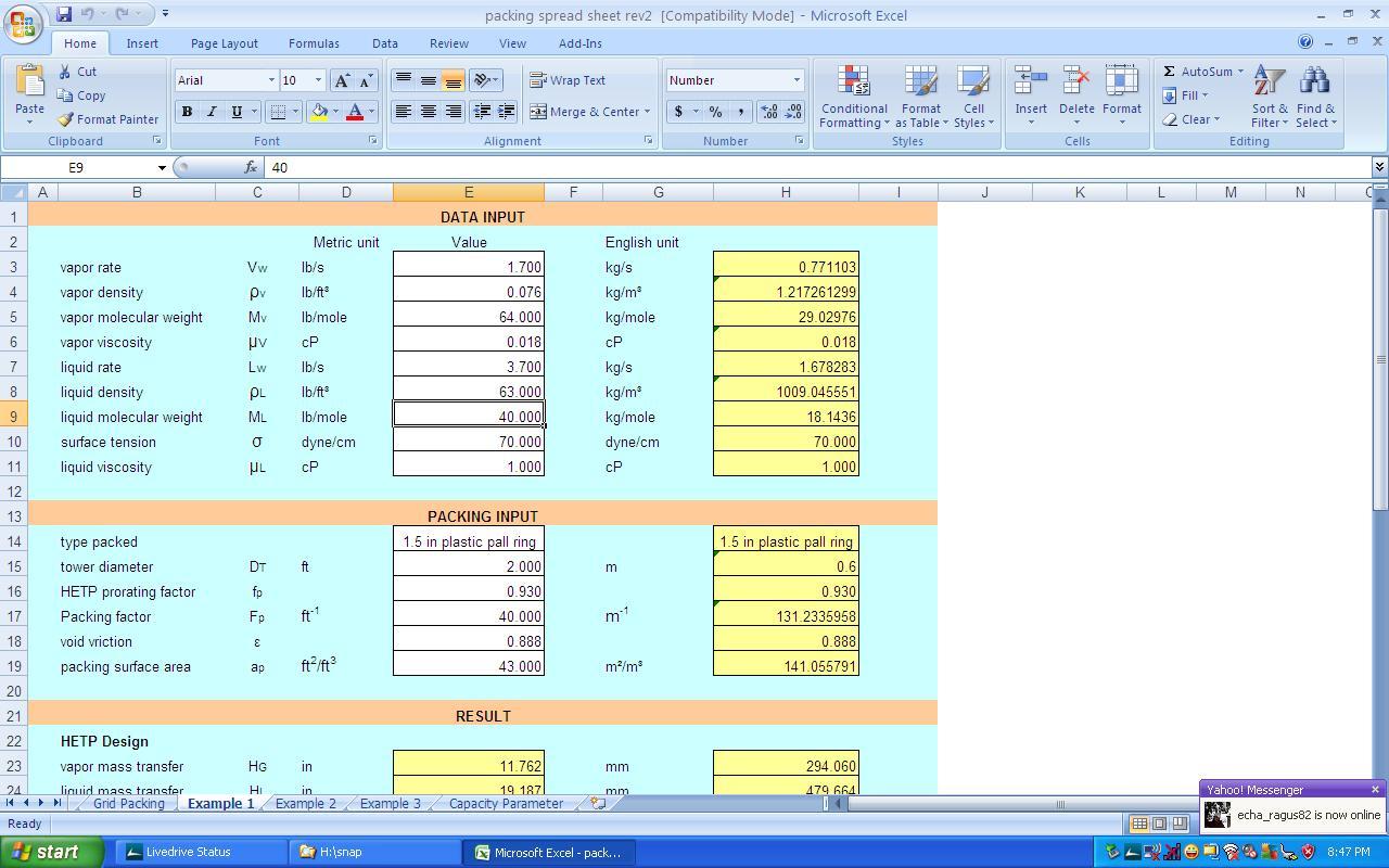 Relief Valve Sizing Spreadsheet Throughout Kolmetz  Guidelines