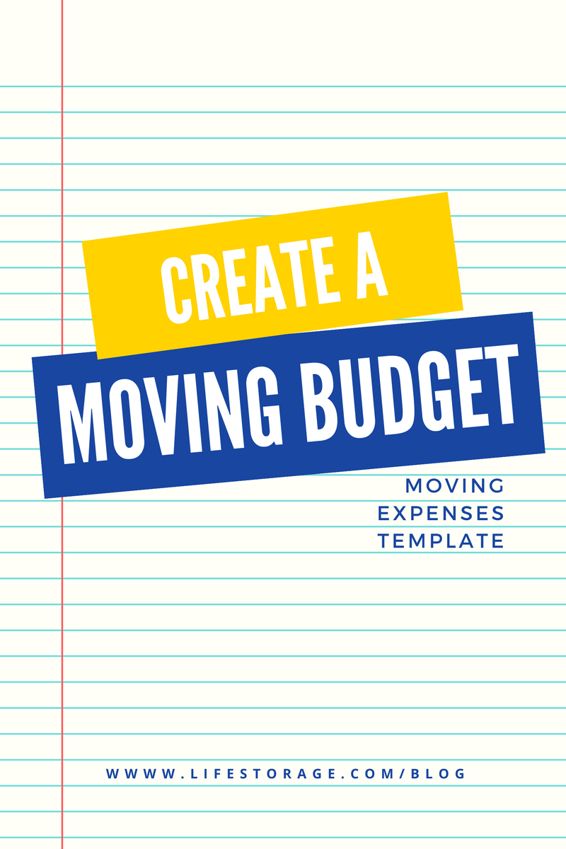 Relocation Spreadsheet Regarding Create A Realistic Moving Budget Using This Guide