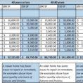 Remodel Spreadsheet With Regard To Renovation Budget Planner  Homebiz4U2Profit
