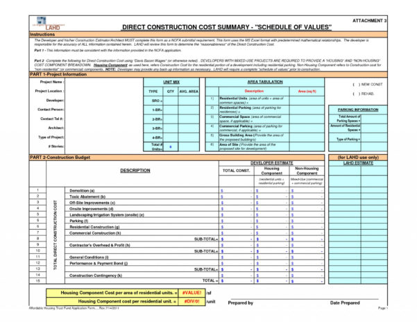 Remodeling Budget Spreadsheet Excel Within 014 Commercial Construction Budget Template Cost Spreadsheet