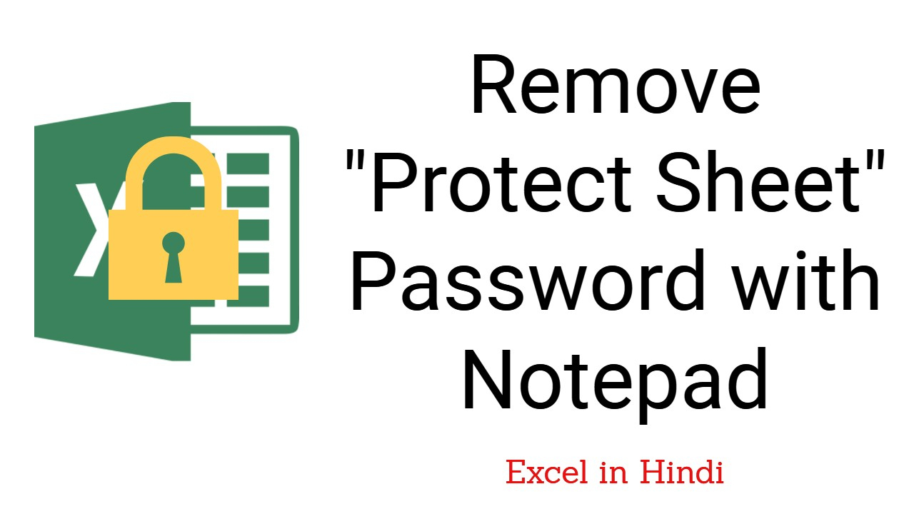 Remove Password From Excel Spreadsheet Intended For Remove Password From Excel 【 Remove Workbook Password 】