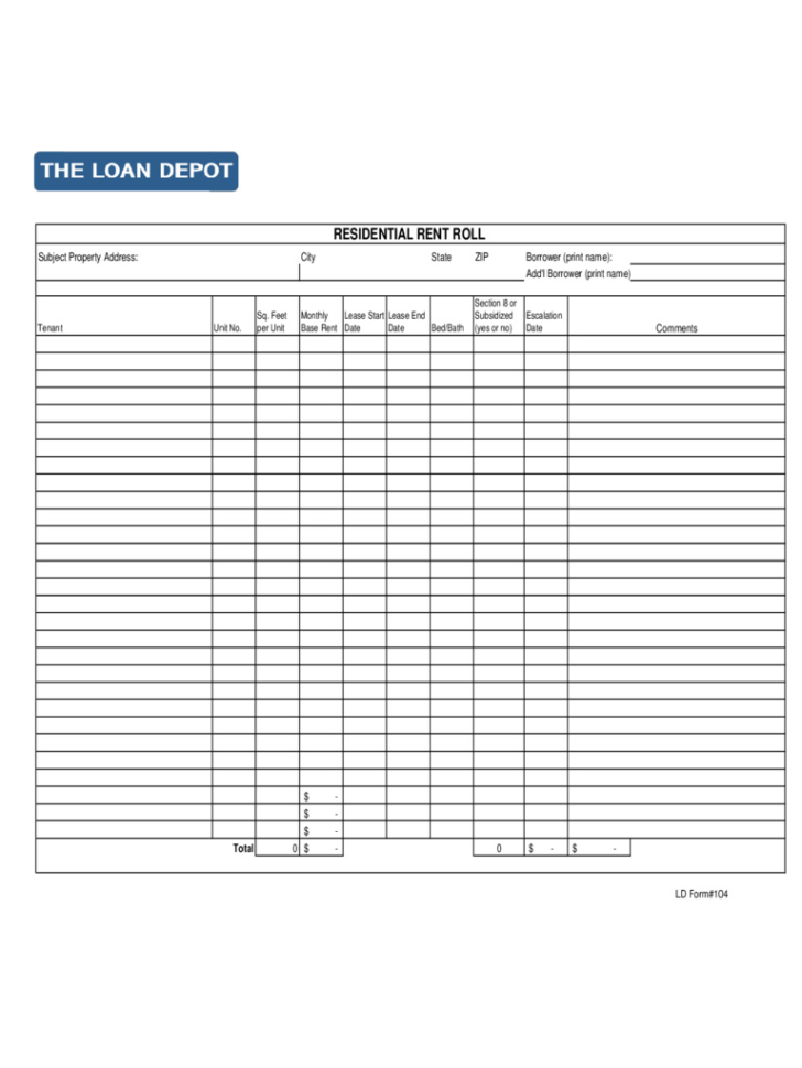 Rent Roll Spreadsheet Intended For Rent Roll Spreadsheet – Spreadsheet Collections