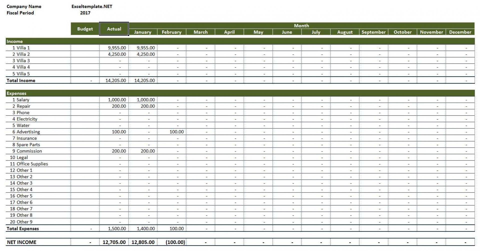 Rental Income And Expense Spreadsheet Intended For 008 Template Ideas Income Expenses Spreadsheet Expense Manager Excel