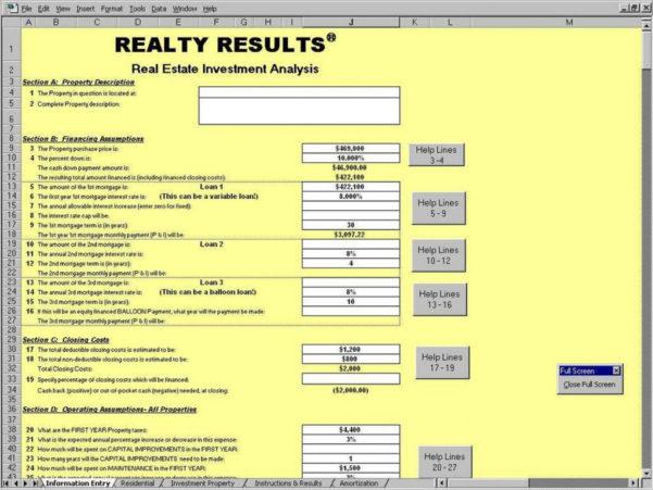 Rental Property Cash Flow Spreadsheet In Rental Property Cash Flow Spreadsheet  Aljererlotgd