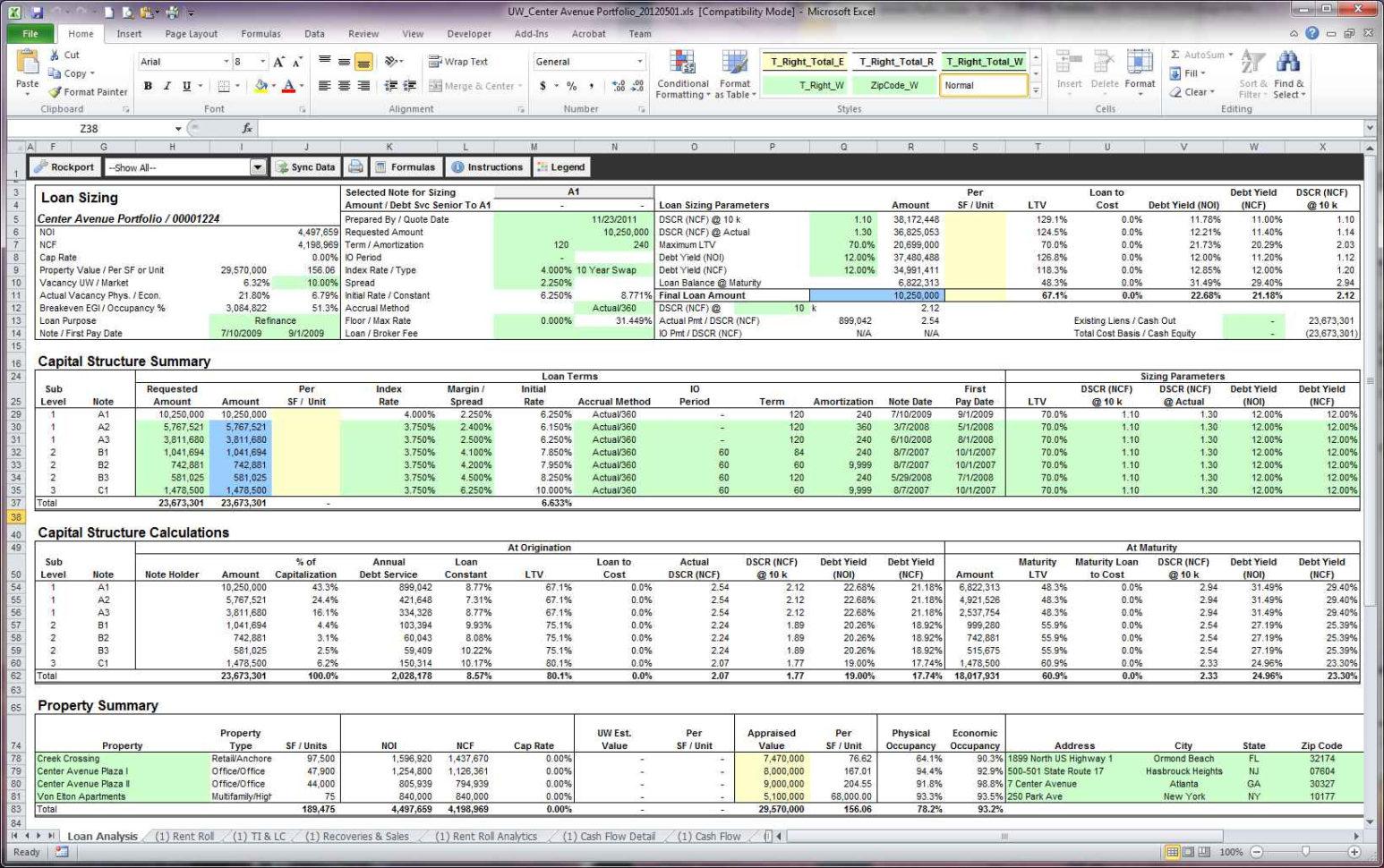Rental Property Evaluation Spreadsheet In Spreadsheet For Rental Property Analysis And Examples Worksheet Best