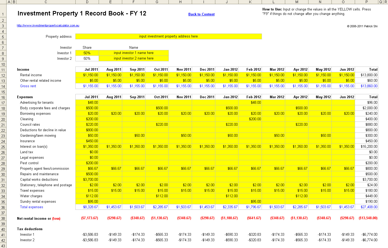 Rental Property Expenses Spreadsheet Template Pertaining To Rental Excel Spreadsheet Templates