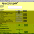 Rental Property Investment Calculator Spreadsheet Pertaining To Real Estate Investment Calculator Spreadsheet Selo L Ink Co Example