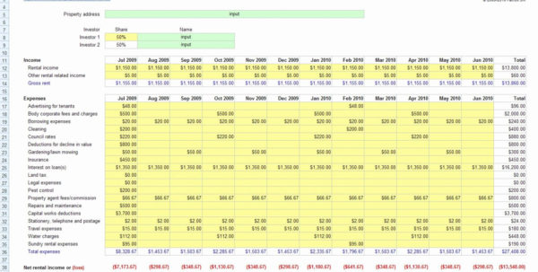 Rental Property Roi Excel Spreadsheet Regarding Investment Property Calculator Excel Spreadsheet And How Do I