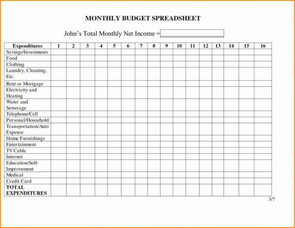 Rental Property Spreadsheet For Taxes With Regard To Spreadsheet Income Template Expenditure Sheet Household And